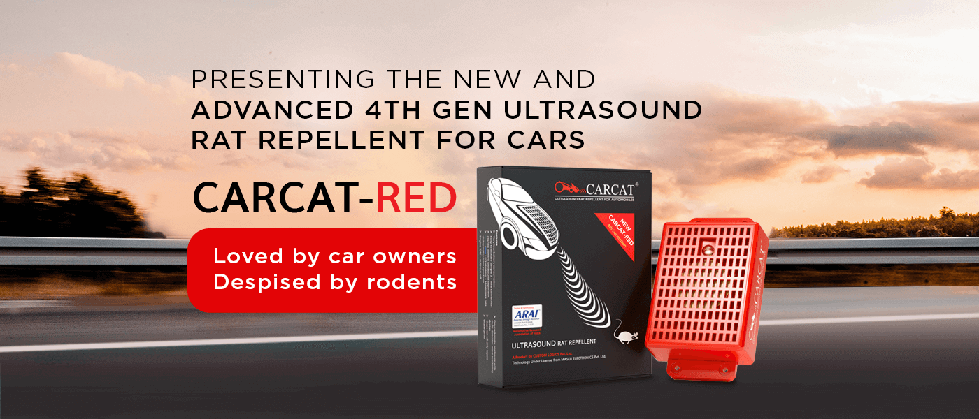 Presenting the new and advance 4th Gen Ultrasound Rat Repellent for cars