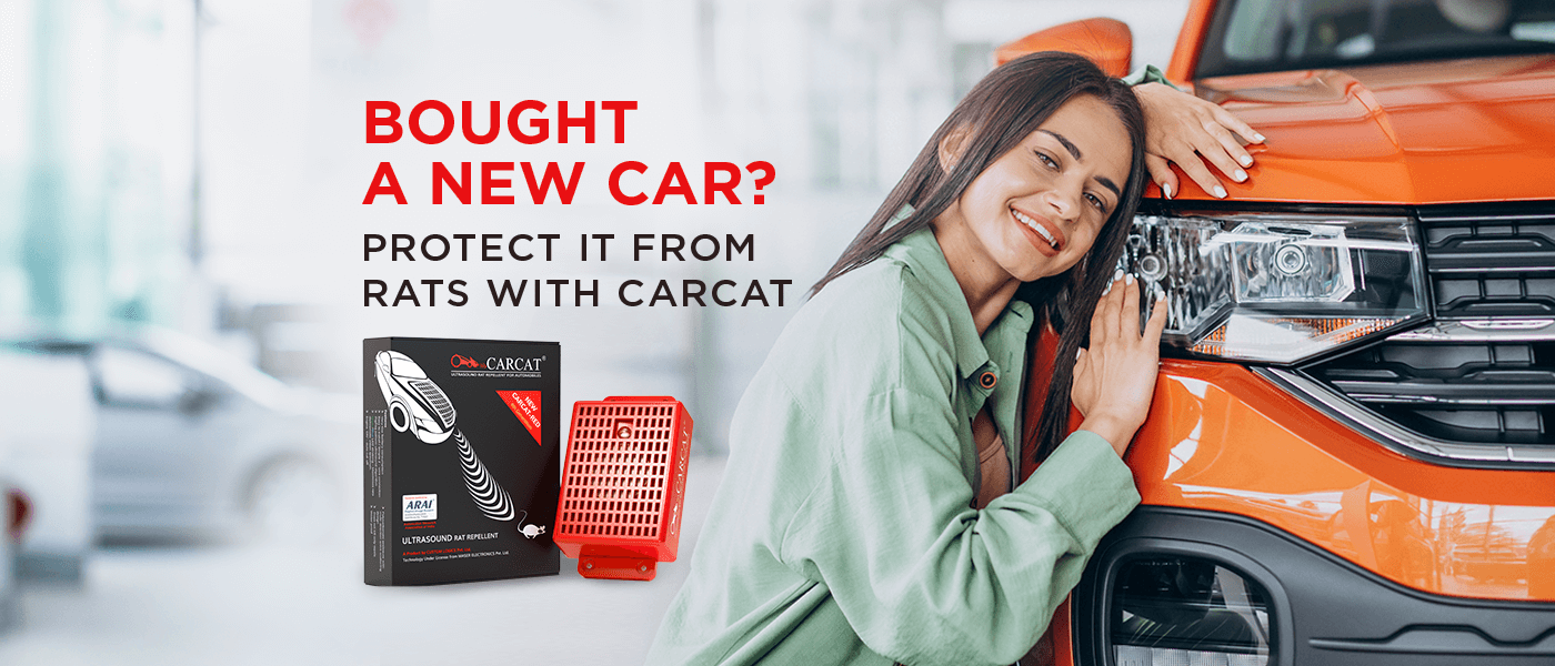 Bought a new car? Protect it from Rats with CARCAT